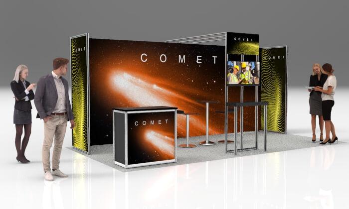 Comet – Back Lit